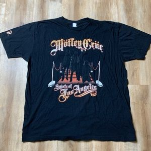 Vintage Motley Crue Saints of Los Angeles Black T